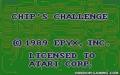 Chip's Challenge - Atari Lynx