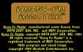Kung-Fu Master - Atari 7800