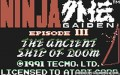 Ninja Gaiden III: The Ancient Ship of Doom - Atari Lynx