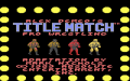 Title Match Pro Wrestling - Atari 7800